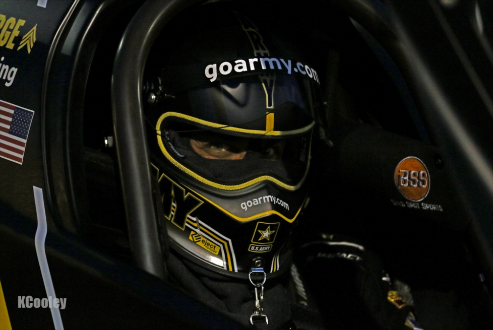 A stoic Tony Schumacher earned a trip to Victory Lane for the first time in 2016.